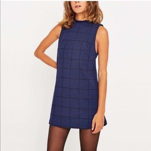 Urban Outfitters Cooperative grid mod mini dress